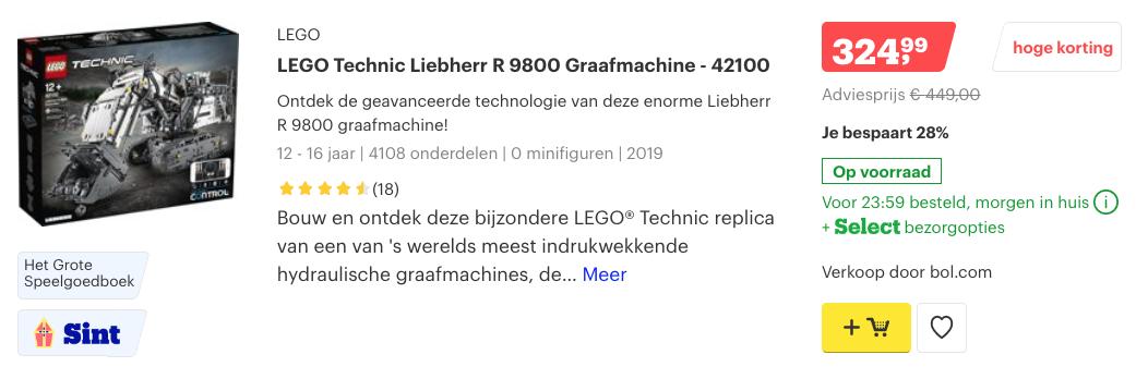 lego technic black friday deals