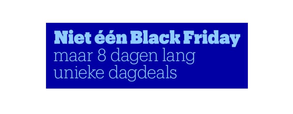 Bol.com begint vroeg | 8 Dagen lang Black Friday deals