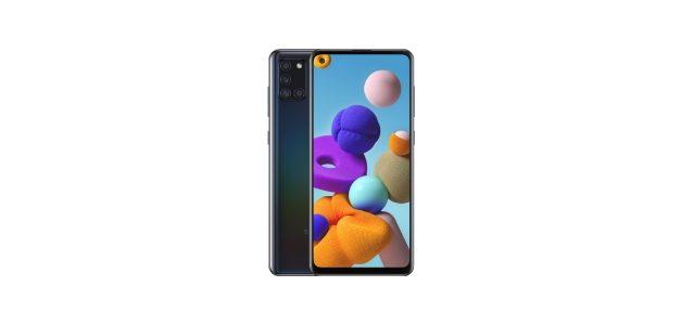 Samsung Galaxy A21S Black Friday 2020 | Ontvang €30,- korting